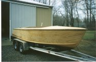Traditional, and modern wooden power boat builders